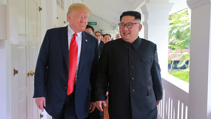 VIDEOS: Tres momentos curiosos del histórico encuentro entre Donald Trump y Kim Jong-un