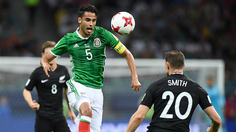 El jugador mexicano Diego Reyes se queda fuera del Mundial de Rusia por lesión
