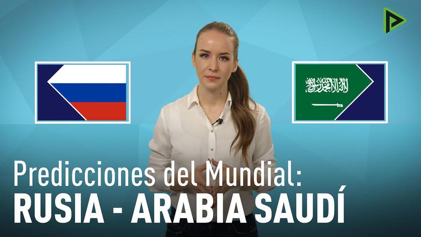 Rusia–Arabia Saudita: ¿Quién ganará el primer partido del Mundial 2018?