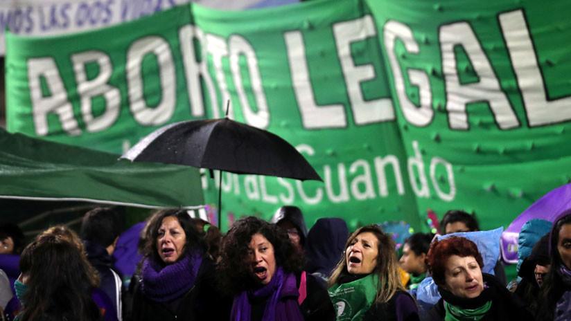 Argentina en vilo: el Congreso define voto a voto la legalización del aborto