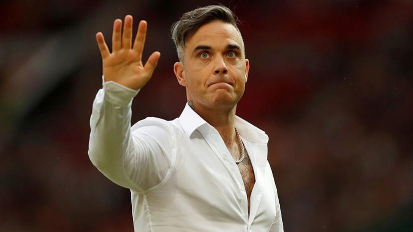 """Acusan a Robbie Williams de """"vender su alma"""" por participar en la inauguración del Mundial 2018"""
