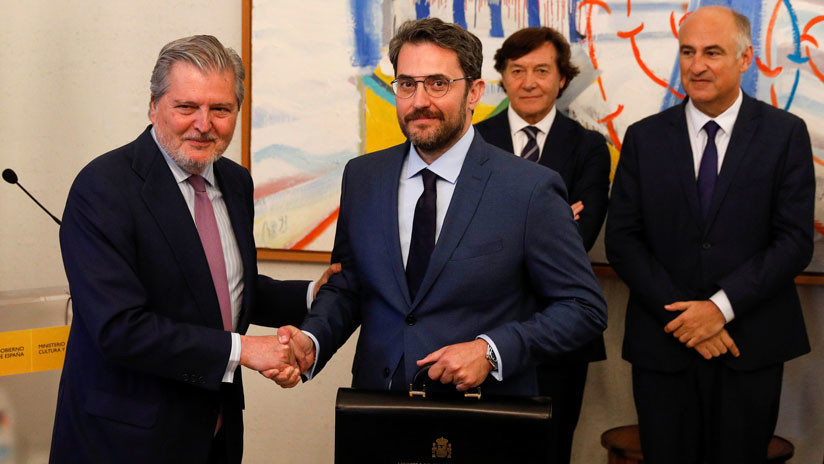 Dimite Màxim Huerta, el ministro más breve de la historia de España