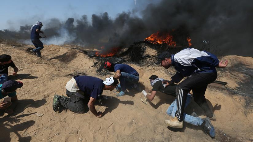 """A ONU aprova uma resolução condenando Israel por sua """"força excessiva"""" em Gaza"""