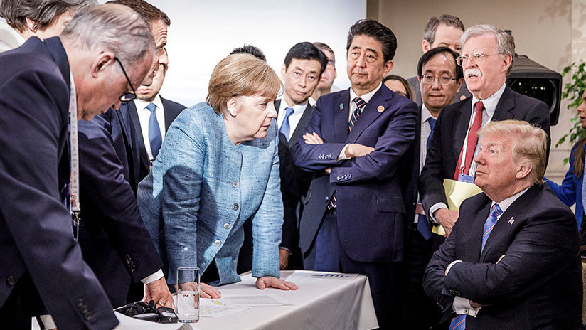 """""""Pasamos el 25 % del tiempo hablando de Rusia"""": Trump reitera que Moscú debería volver al G8"""