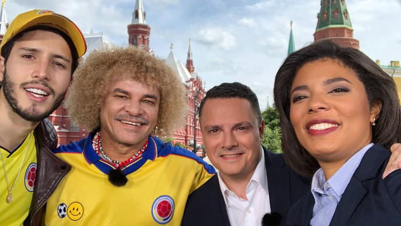 Sebastián Yatra canta para RT su canción mundialista y pronostica hoy una victoria rusa