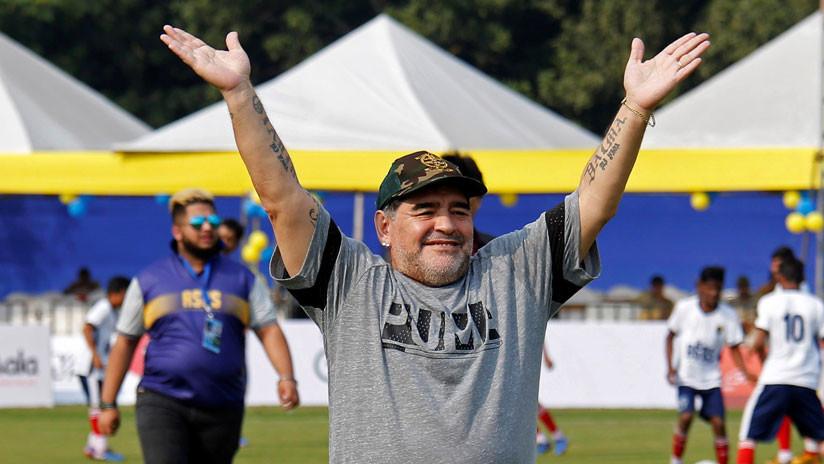 "VIDEO: Maradona asegura que México ""no merece"" ser sede del Mundial 2026"