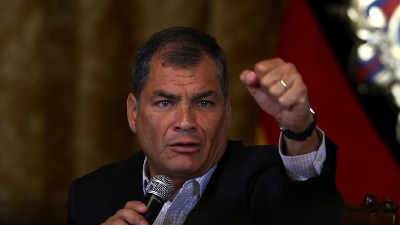 Ecuador: Asamblea niega pedido de autorización para enjuiciar penalmente a expresidente Correa