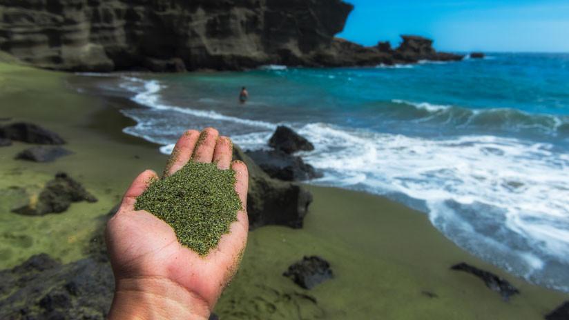 FOTOS: Lluvia de gemas tras las erupciones del volcán Kilauea en Hawái