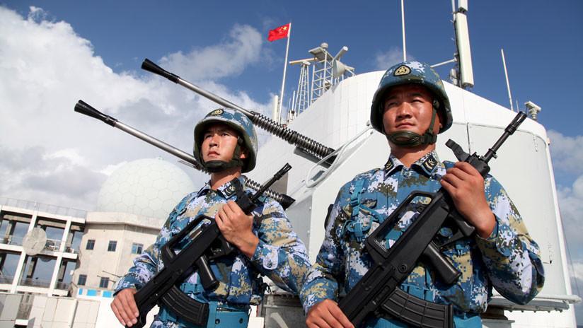 La Armada china hace ejercicios con misiles en el disputado mar de la China Meridional