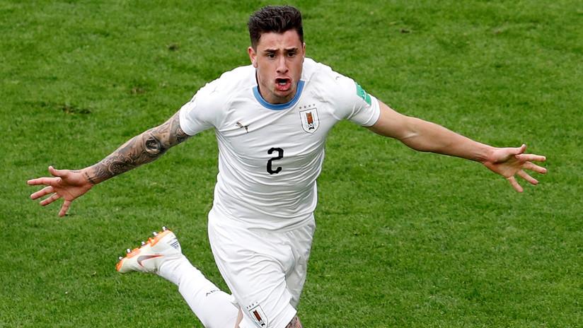 Un Uruguay sin brillo se impone en su debut a Egipto con un gol en los últimos minutos