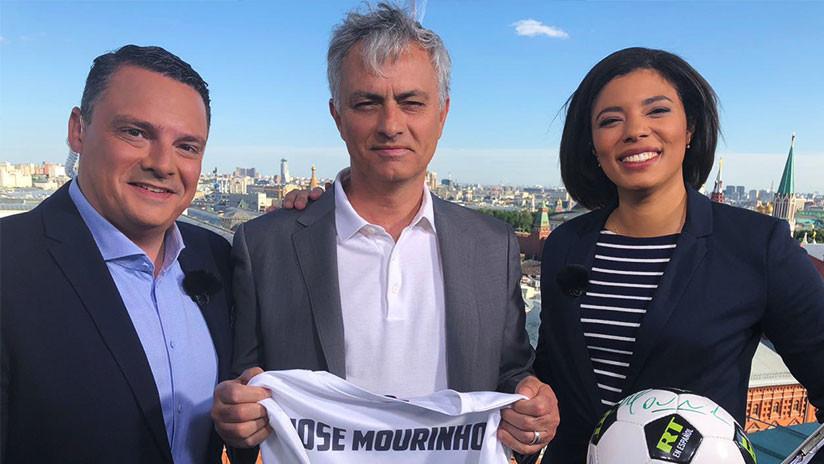 """Mourinho a RT: En Sudamérica hay una verdadera clasificación, en Europa """"es un poco una broma"""""""