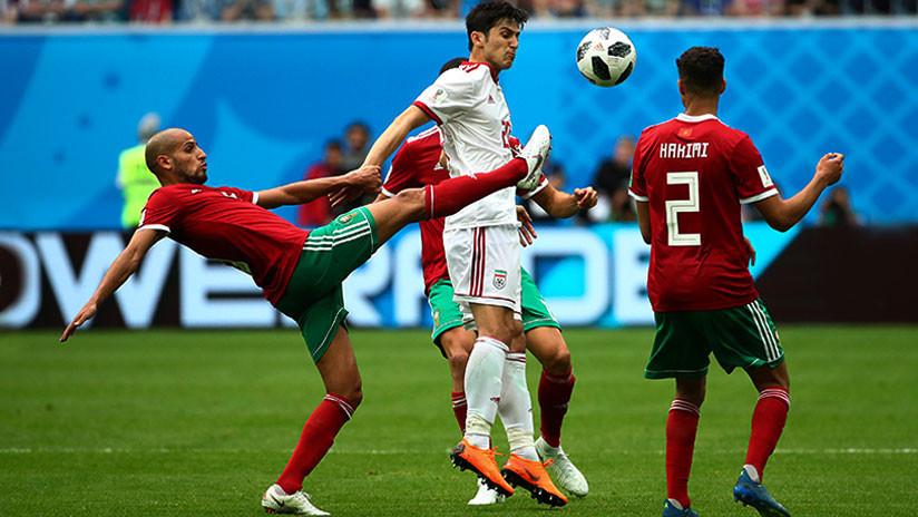 Un autogol en el minuto 94 le da el triunfo a Irán sobre Marruecos