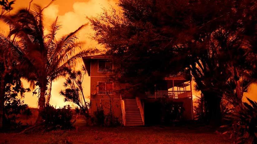 El dueño de un campo de marihuana en Hawái se niega a evacuarse a pesar de la erupción del Kilauea