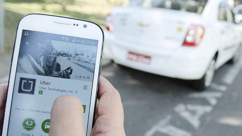 Arrestan a un chófer de Uber en Brasil acusado de violar a una adolescente