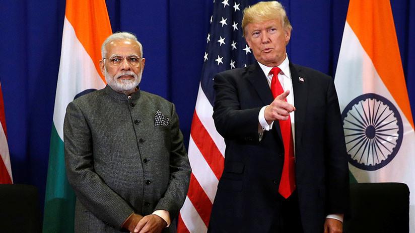 India estudia introducir aranceles a productos estadounidenses por valor de 240 millones de dólares