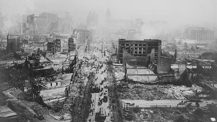 VIDEO: Un filme hallado en un mercadillo muestra San Francisco en ruinas tras el terremoto de 1906
