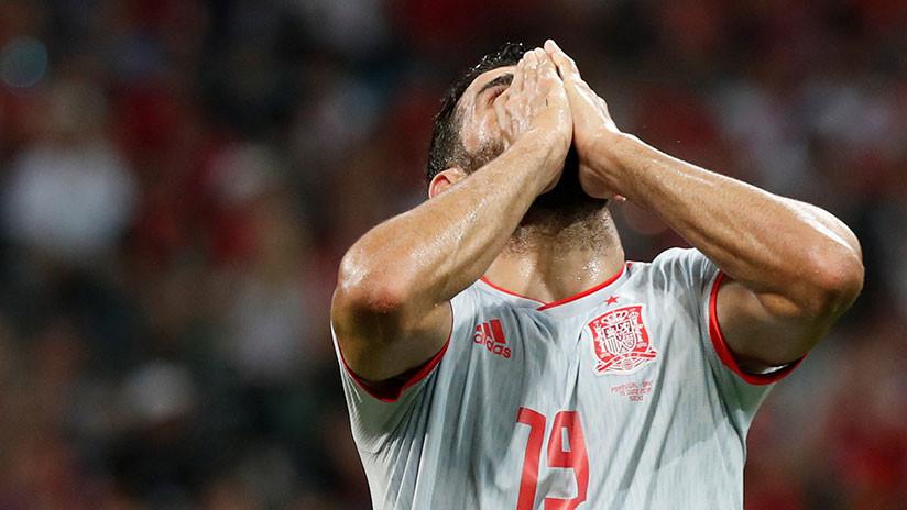 """Diego Costa tras el partido contra Portugal: """"Ojalá fuera como Cristiano Ronaldo"""""""