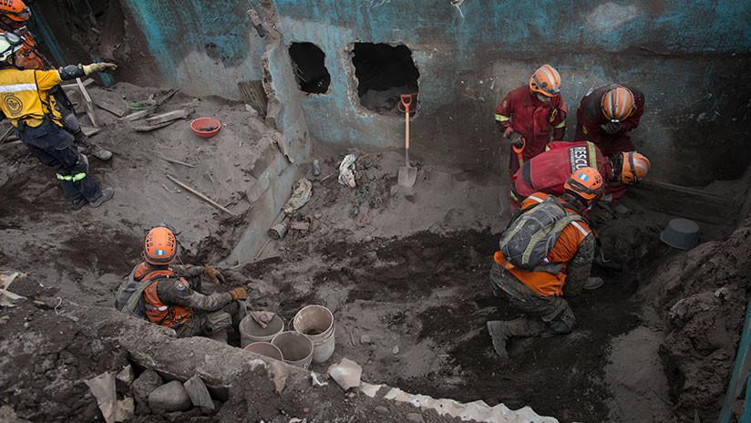 Guatemala suspende por completo la búsqueda de víctimas del Volcán de Fuego