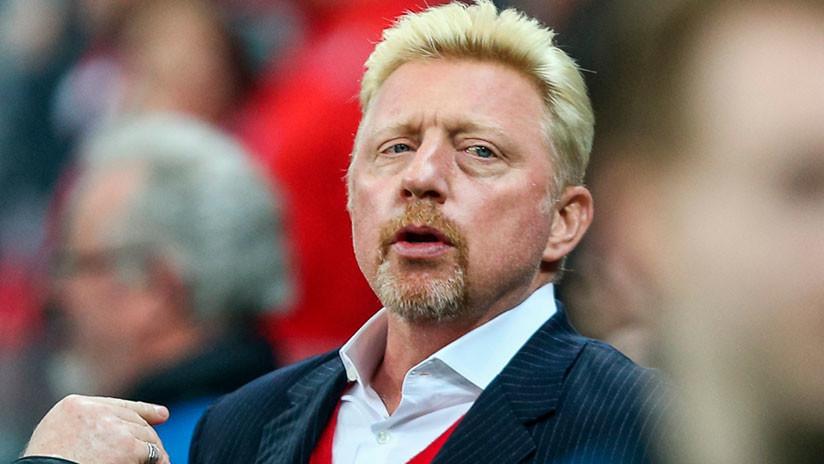Extenista alemán Boris Becker se hará diplomático africano para evitar el acoso de un banco inglés