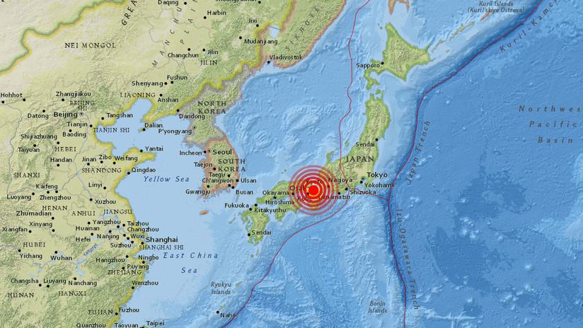Sismo de magnitud 5.9 se registró en Japón - Internacionales