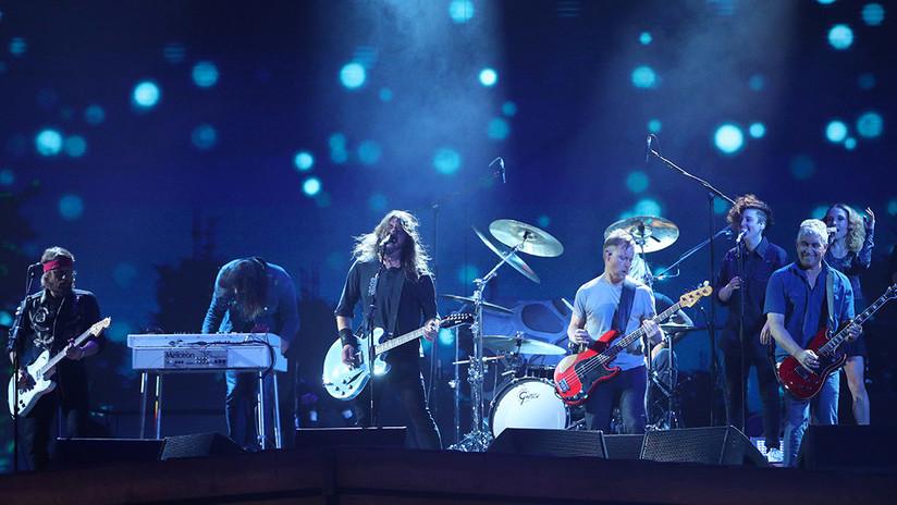 Cae un meteorito durante un concierto de Foo Fighters (VIDEO)