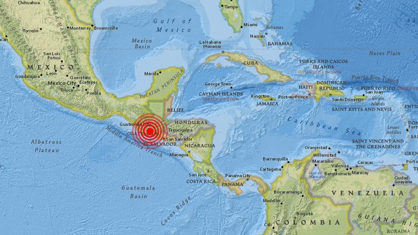 Fuerte sismo sacude varias regiones de Guatemala