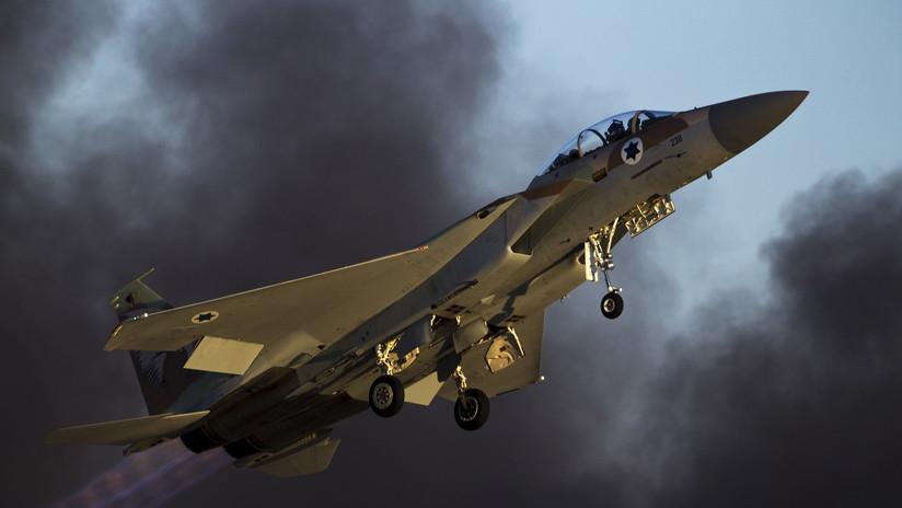 Israel bombardea la Franja de Gaza tras ataques con barriletes de fuego