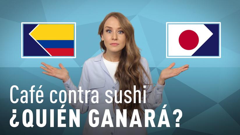 Café contra sushi: ¿Quién ganará en el partido Colombia-Japón?