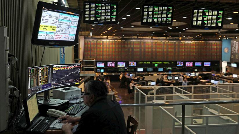 El mercado de valores argentino registra una severa caída del 6,55 %
