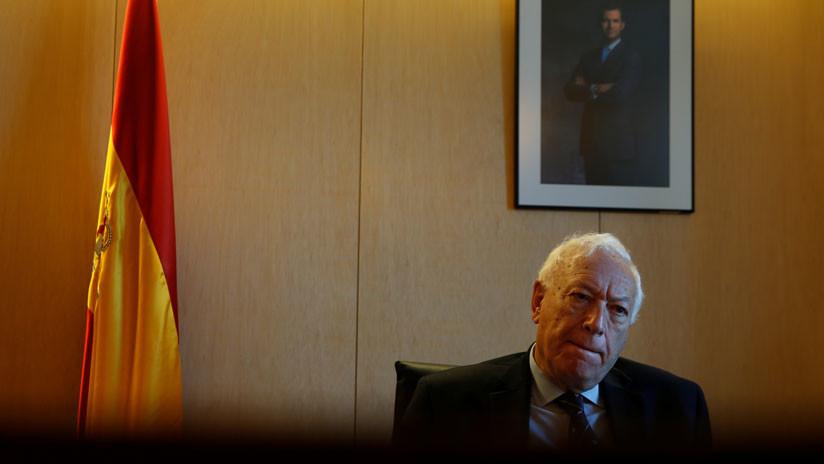 El exministro de Exteriores español García-Margallo presenta su candidatura a presidir el PP