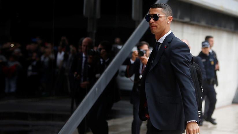 VIDEO: Ronaldo retrasó la partida de su selección hacia el Mundial para consolar a un joven hincha