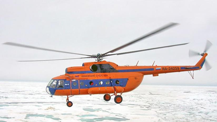 VIDEO: Un helicóptero choca contra un edificio en un aeródromo ruso