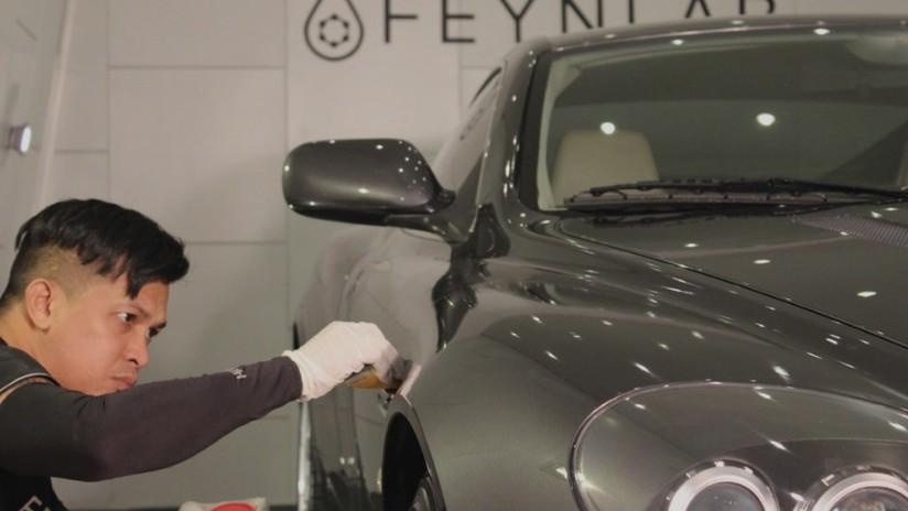 Crean una pintura para coche capaz de autorepararse con calor