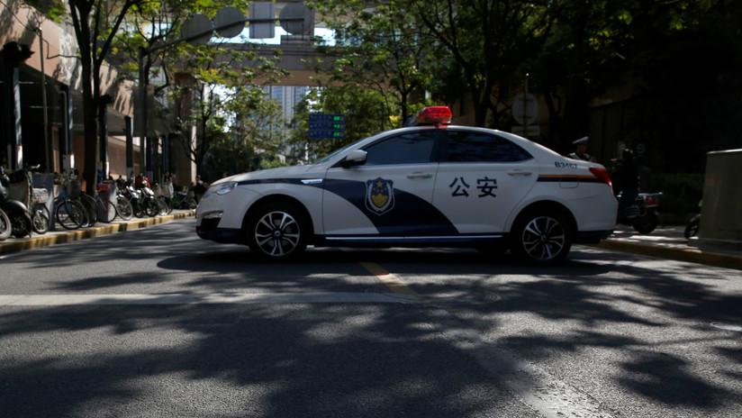 FUERTE VIDEO: Un autobús explota en China dejando 15 heridos