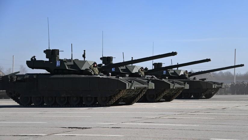 Rusia desclasifica su proyecto de tanque robótico de la plataforma Armata