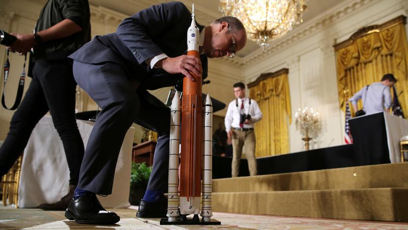 EE.UU. anuncia sus planes de 'militarizar' el espacio y China reacciona