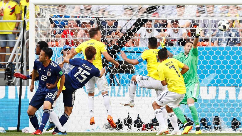 Japón marca el segundo y hunde a Colombia