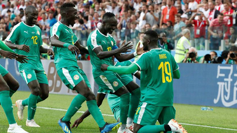 El combinado senegalés se impone ante Polonia 2-1