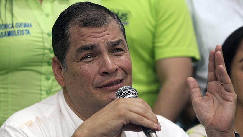 Expresidente de Ecuador Rafael Correa analiza pedir asilo en Bélgica