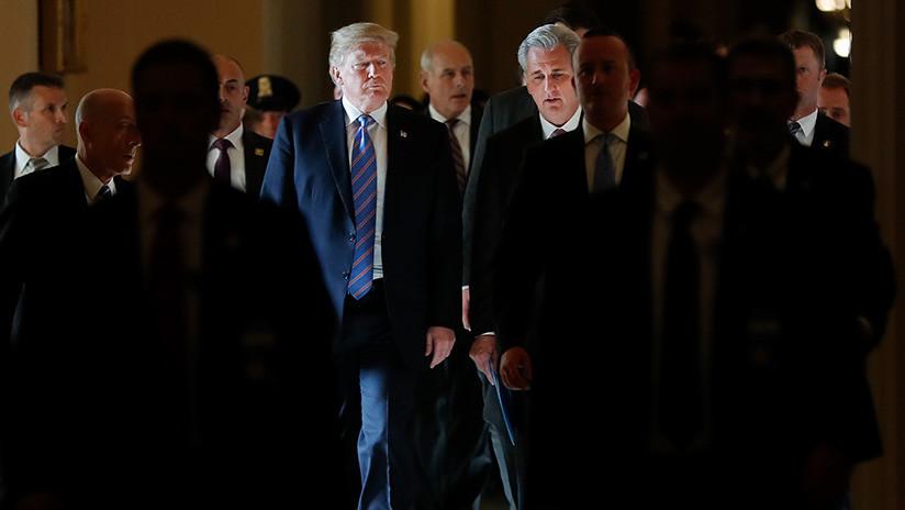 """Trump sobre el TLCAN: """"No podemos ser el país estúpido"""""""