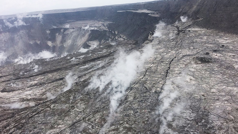 VIDEO, FOTOS: Los dramáticos cambios que el cráter del volcán Kilauea ha sufrido tras la erupción