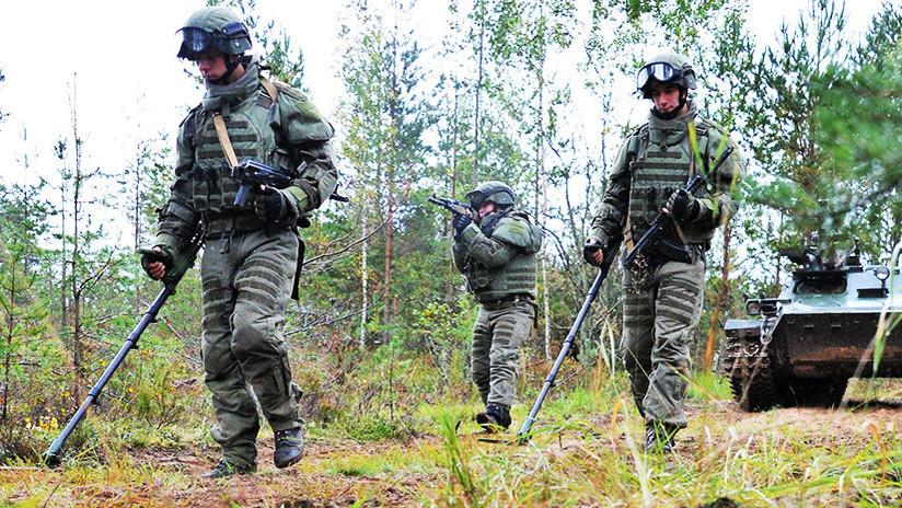 Comandos de zapadores rusos reciben nuevo equipamiento protector para combates urbanos