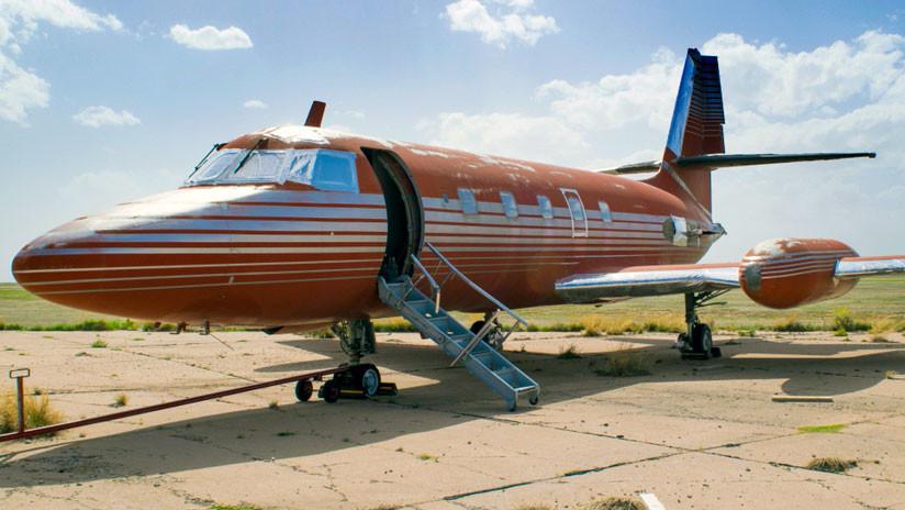 ¿Quisiera tener el avión de Elvis Presley? Queda un mes para participar en la subasta (FOTOS)