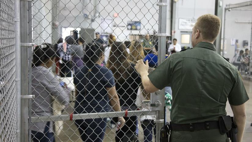 Las jaulas donde EE.UU. encierra a los niños de los migrantes indocumentados (VIDEOS, FOTOS)