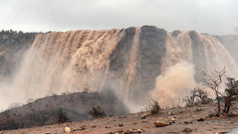 FOTO: Uno de los desiertos más grandes del mundo se llena de lagos