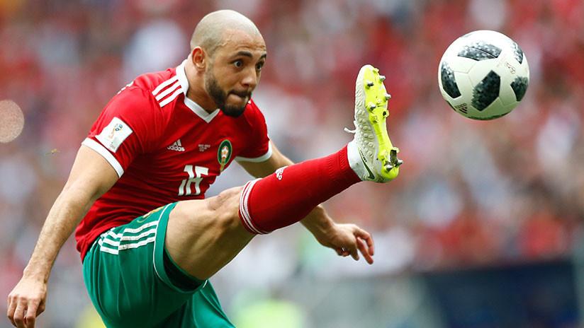"""""""Un circo"""": Jugador marroquí critica al árbitro por admirar a Ronaldo y pedir la camiseta de Pepe"""