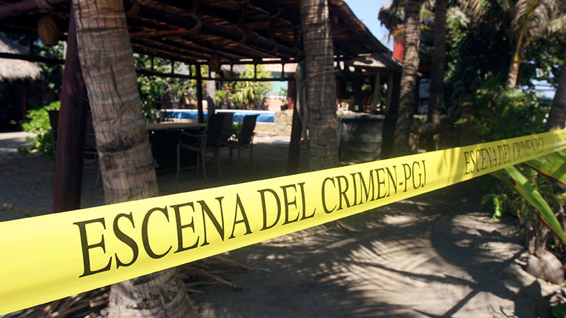 FUERTES IMÁGENES: Linchan a una presunto delincuente en un pueblo de México