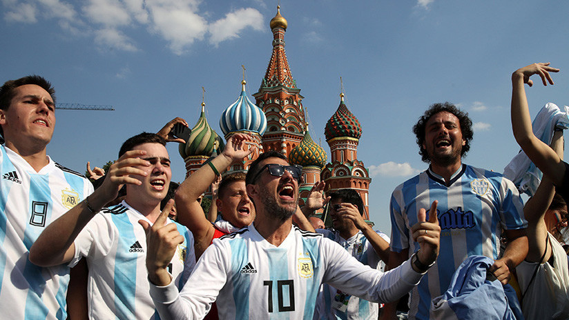 Expulsan del Mundial a hincha argentino que se burló de rusa