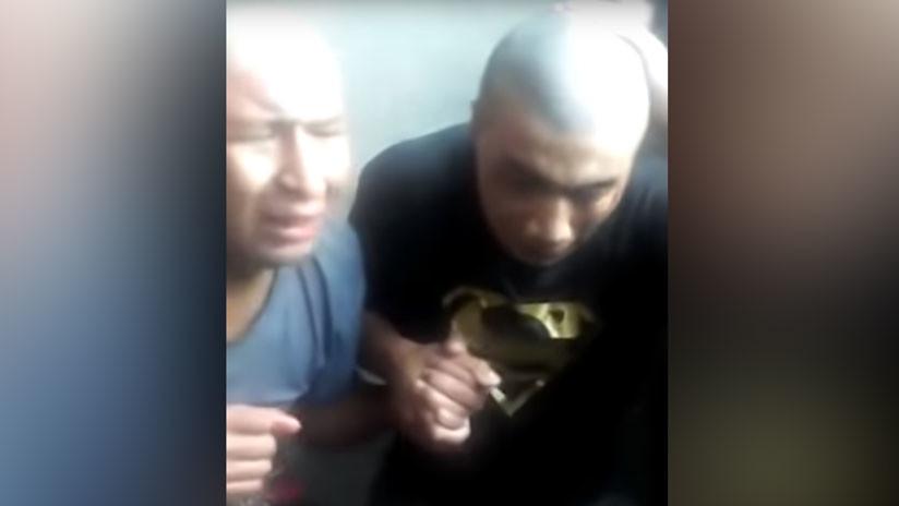 FUERTE VIDEO: Ecuatorianos acusados de asesinato son torturados por reos en cárcel de Chile