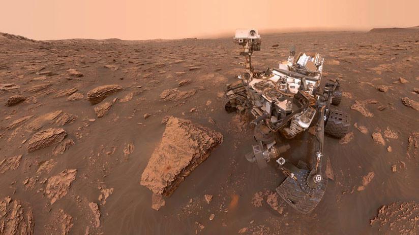 FOTOS: El 'rover' marciano Curiosity capta el antes y el después de una tormenta sin precedentes
